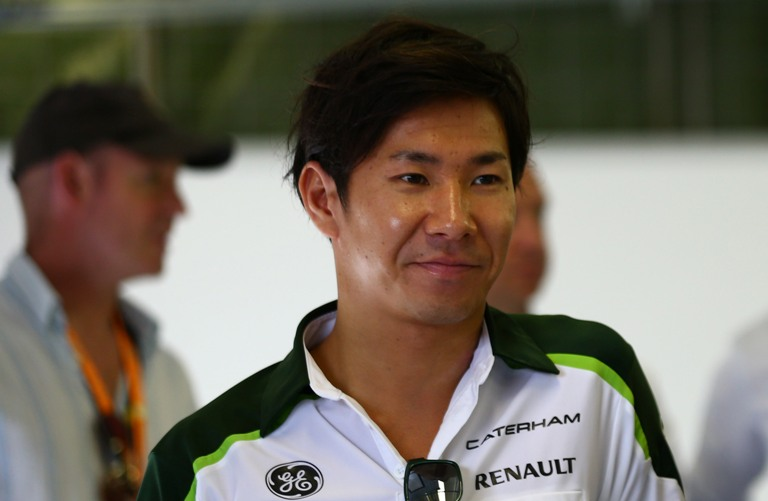 Kobayashi in pista a Monza