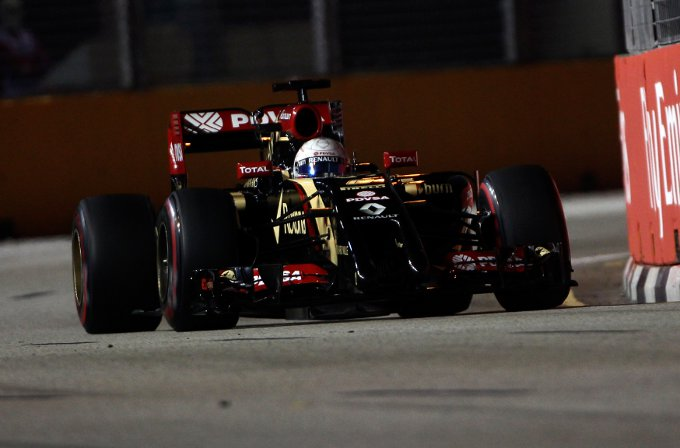 Lotus: il commento di Grosjean e Maldonado al termine delle libere a Singapore