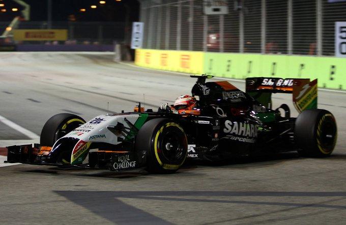 """Force India: Perez, """"Gestire le gomme qui a Singapore sarà una priorità"""""""