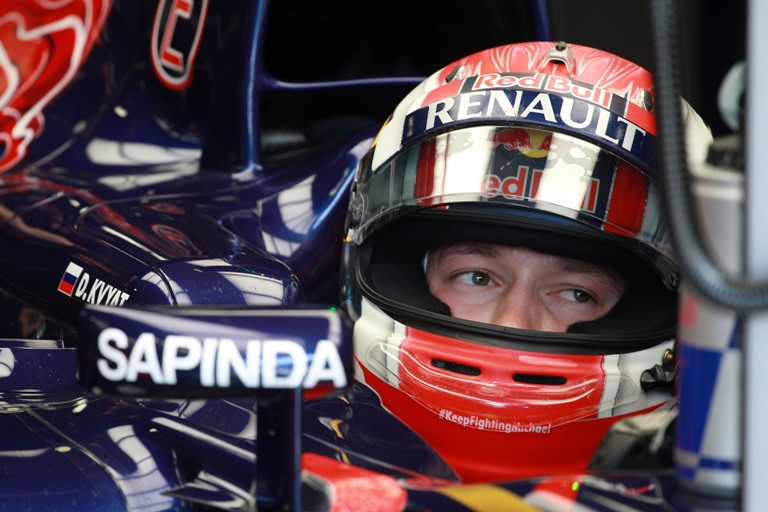 "Toro Rosso, Kvyat: ""Il layout lento potrebbe aiutarci"""
