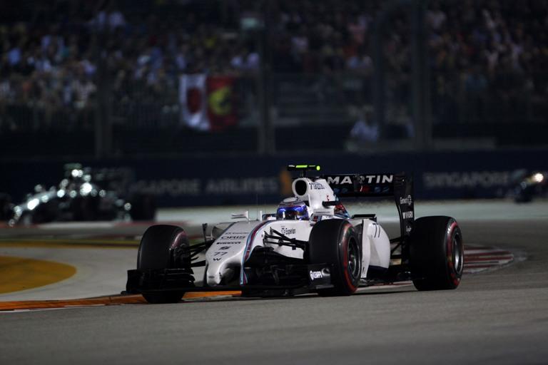 """Williams, Bottas: """"Sul finale non avevo più gomme"""""""