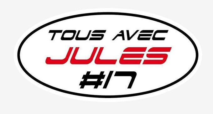 F1, GP2 e GP3 in pista per Jules Bianchi con gli adesivi creati da Vergne