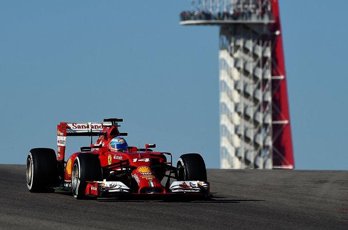 GP degli Stati Uniti, Libere 2: Terzo e sesto posto per Alonso e Raikkonen