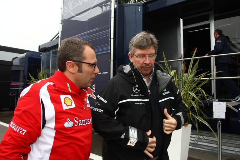 Brawn e Domenicali nel gruppo d'indagine sull'incidente di Bianchi
