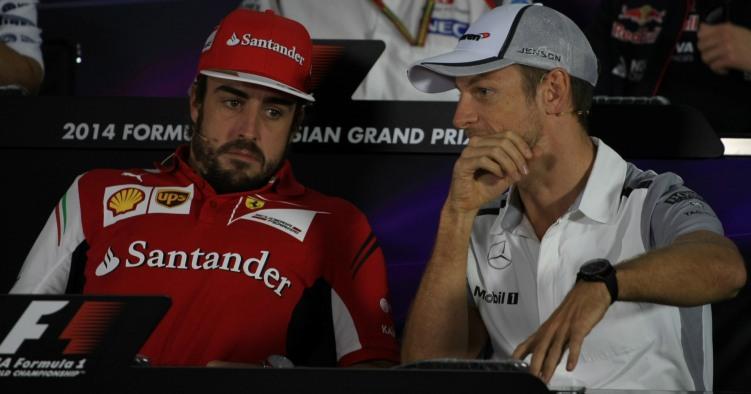 """Button: """"Nessun problema se Alonso venisse in McLaren"""""""