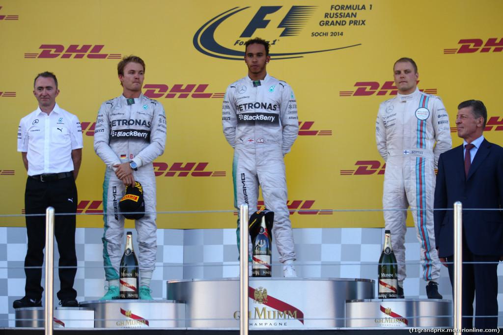 Le pagelle del Gran Premio di Russia