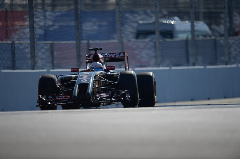 """Lotus, Grosjean: """"Difficile far lavorare le gomme"""""""