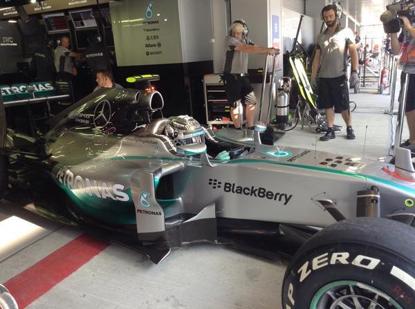 GP Russia, Prove Libere 1: Rosberg precede Hamilton
