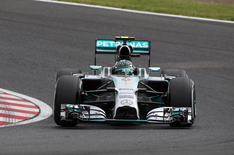 GP Giappone, Qualifiche: Rosberg torna in pole