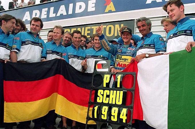 Michael Schumacher, riattivato il sito a 20 anni dal primo titolo Mondiale