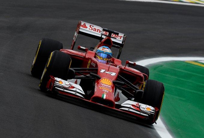 F1 Gran Premio del Brasile: Quarta e quinta fila per Alonso e Raikkonen