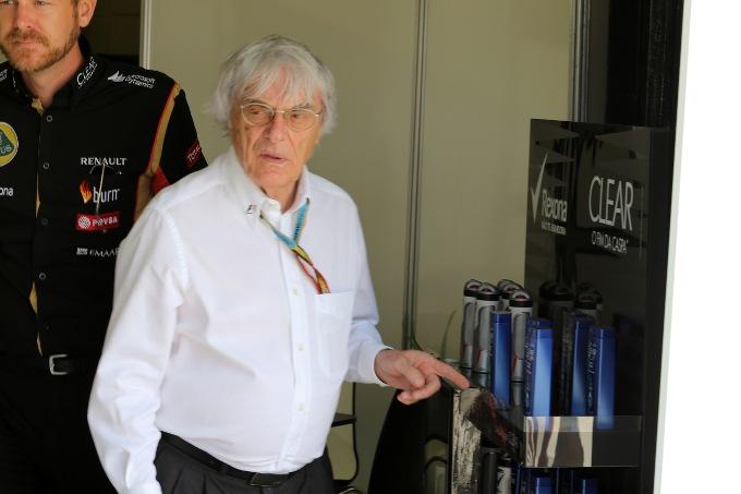 """Ecclestone: """"Lascerò la F1 solo quando sarò in una bara"""""""