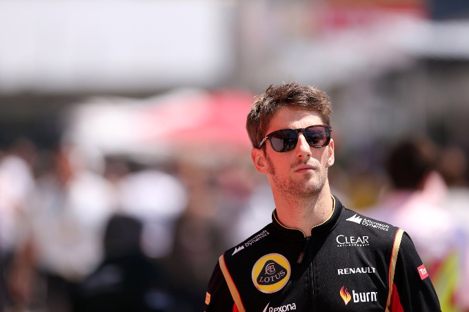 Grosjean resta in Lotus per il 2015