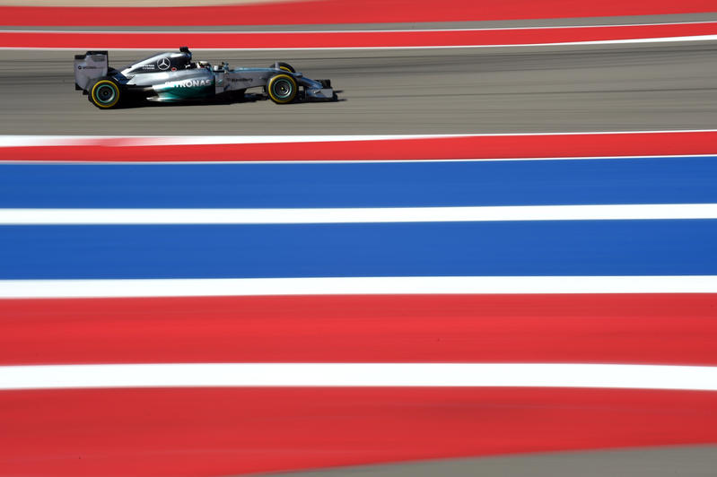 GP USA, Prove Libere 3: Hamilton imprendibile