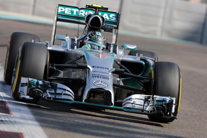 GP Abu Dhabi, Prove Libere 3: Rosberg torna in testa