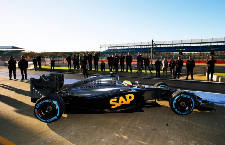 La McLaren Honda ha debuttato a Silverstone