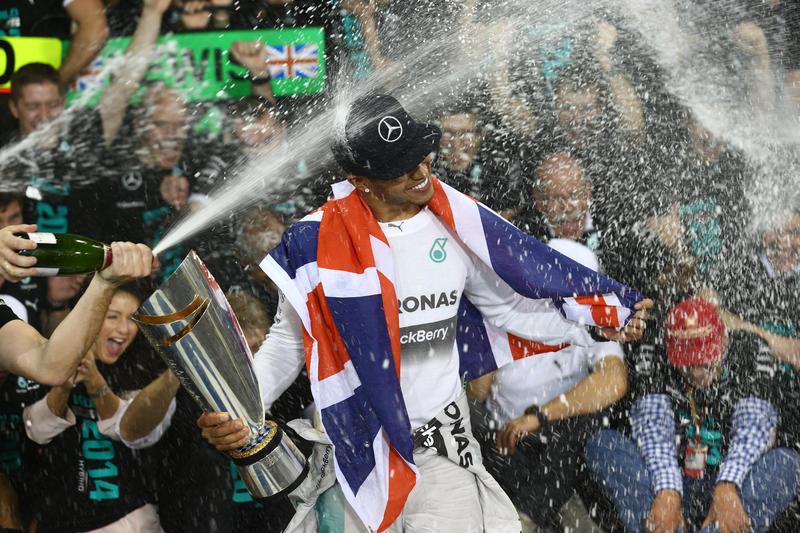 """Hamilton: """"E' il miglior momento della mia vita"""""""