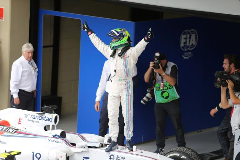 """Williams, Massa: """"Risultato fantastico per me e il team"""""""
