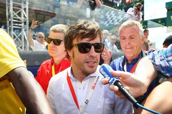 Alonso esclude di correre a Le Mans nel 2015