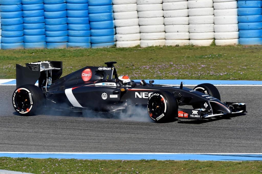 La Sauber C34 ha superato tutte le operazioni di crash test previste dalla FIA
