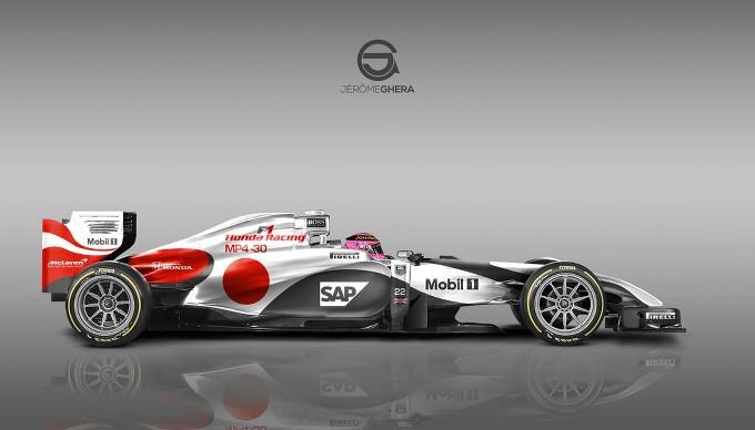Nuova livrea per Mercedes e McLaren nel 2015