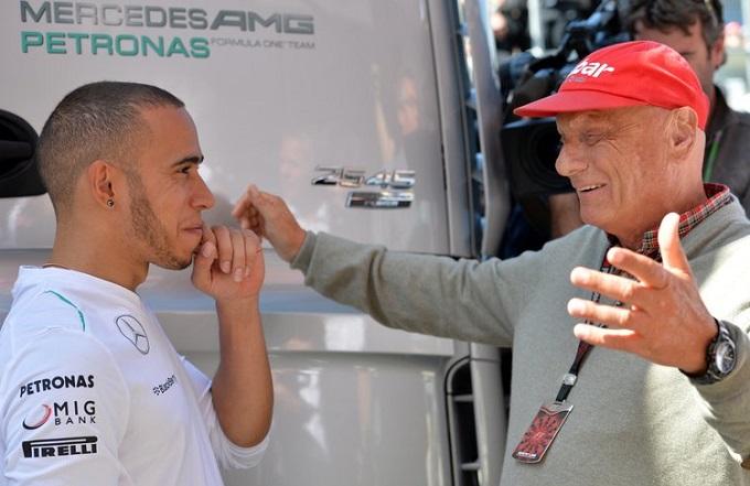 """Lauda: """"Rinnovo faraonico per Hamilton? Una sciocchezza"""""""