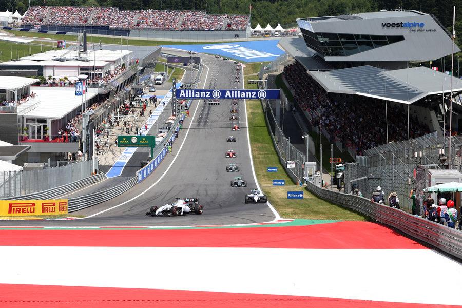 Test F1 2015, le squadre scelgono il Montmelò e il Red Bull Ring