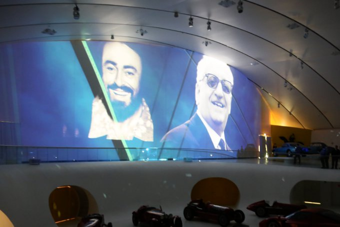 Ferrari e Pavarotti celebrati insieme al MEF