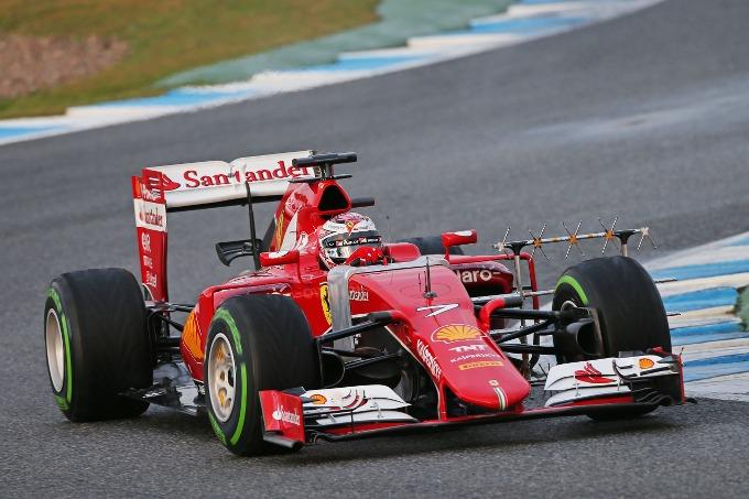 Test F1 Jerez, giorno 3: Kimi e Ferrari guidano il gruppo al mattino
