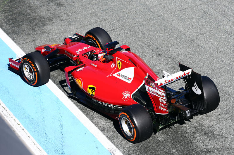 Test F1 Jerez: la Ferrari è la più veloce