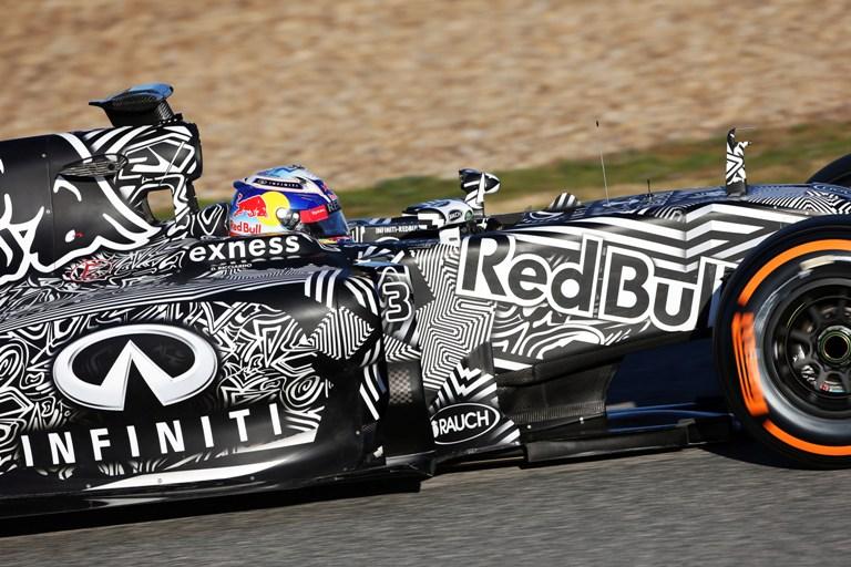 """Ricciardo: """"Incoraggiante il primo assaggio della nuova Red Bull"""""""