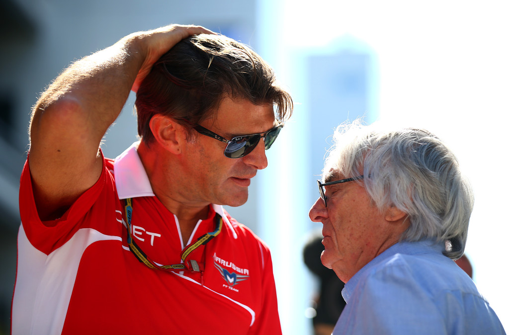 """Ecclestone: """"Manor dovrà rimborsare le spese di viaggio per l'Australia"""""""