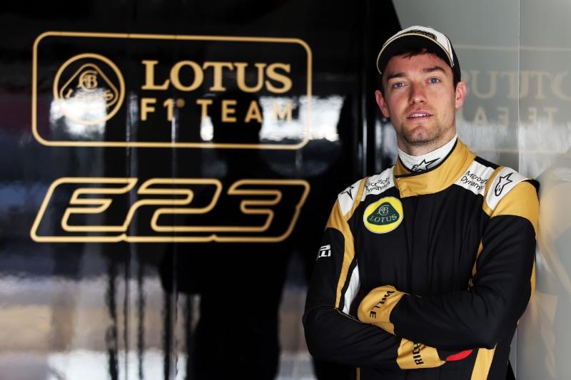 Palmer al volante della E23 nelle FP1 di Shanghai