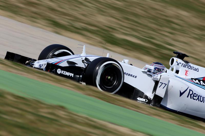 Test F1 Barcellona, giorno 4: al mattino è ancora Williams