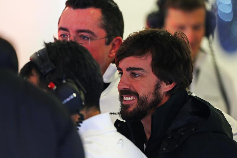 """Lara Alvarez: """"Alonso è in condizioni perfette"""""""