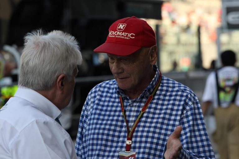 "Lauda: ""Williams e Bottas i nostri avversari principali"""