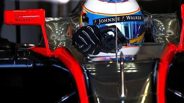 Giornata produttiva per Fernando Alonso all'interno del simulatore Mclaren