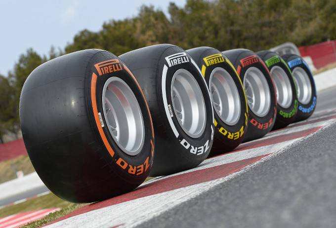 Pirelli: con la nuova gamma di pneumatici P Zero più sorpassi in Formula 1