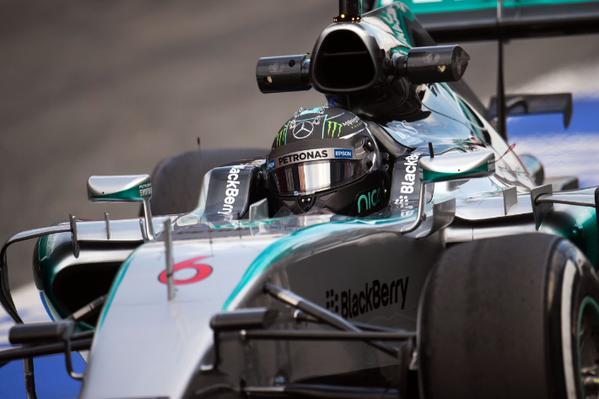 GP Australia, Prove Libere 1: Mercedes apre le danze