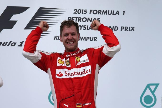 """Vettel: """"Una giornata fenomenale"""""""