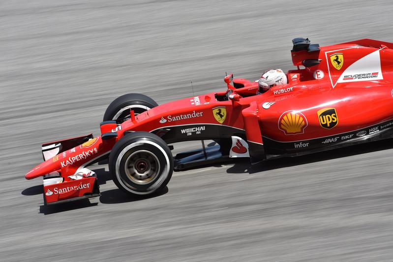 GP Malesia: Ferrari con Vettel sul gradino più alto del podio