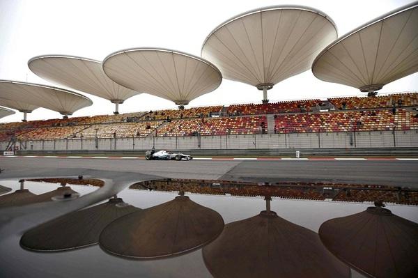 Doppia zona DRS per il Gran Premio di Cina