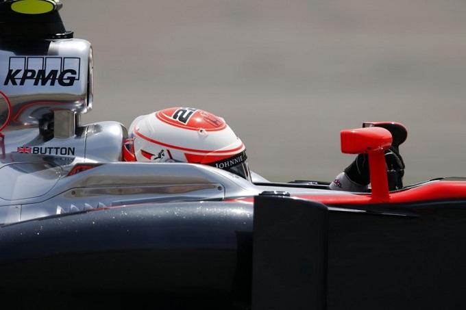 In Cina il nuovo profilo estrattore montato solo sulla McLaren di Button