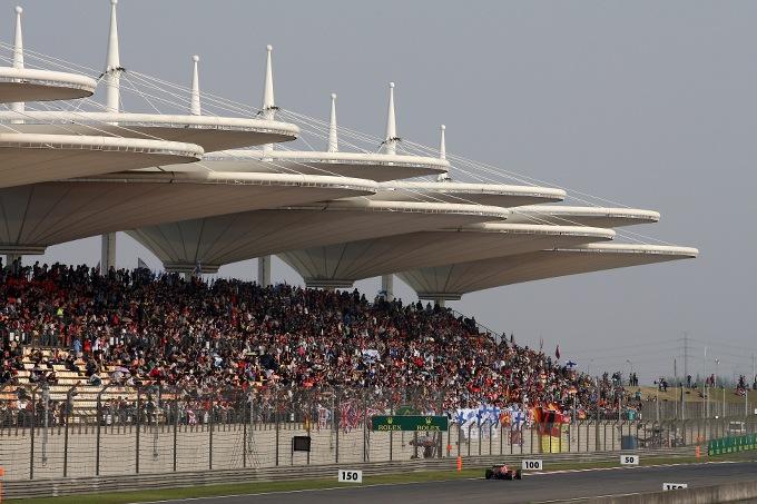 F1 – GP Cina: la griglia di partenza