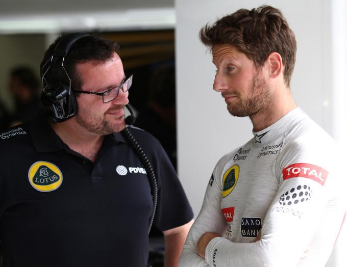 """Lotus F1: Romain Grosjean, """"Sono davvero orgoglioso del team e di quello che abbiamo raggiunto"""""""