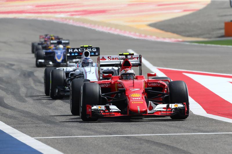 GP Bahrain, Prove Libere 1: inizio in rosso, con Kimi davanti a Vettel