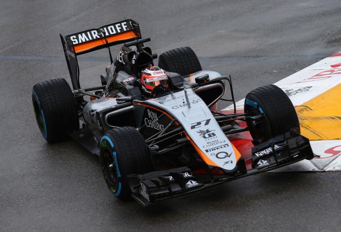 Force India: una giornata produttiva a Monaco per Hulkenberg e Perez