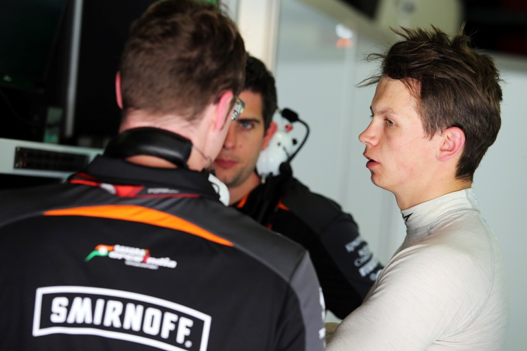Test Barcellona: Force India in pista con Yelloly
