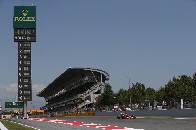 F1 – GP Spagna: la griglia di partenza