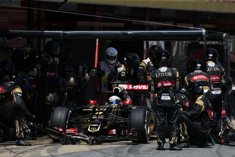 "Grosjean: ""Al pit stop mi sono davvero spaventato"""